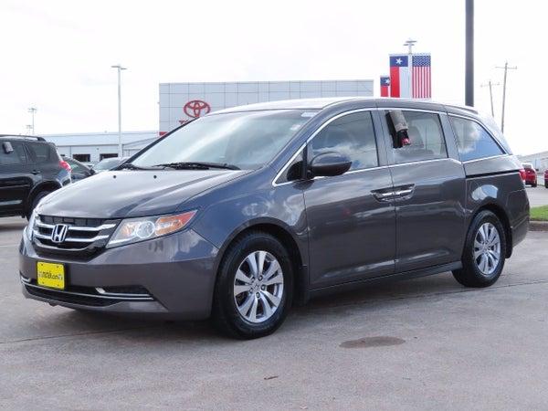 2016 Honda Odyssey Se Near League City Tx Near Webster Clear Lake Dickinson Texas 5fnrl5h36gb012109